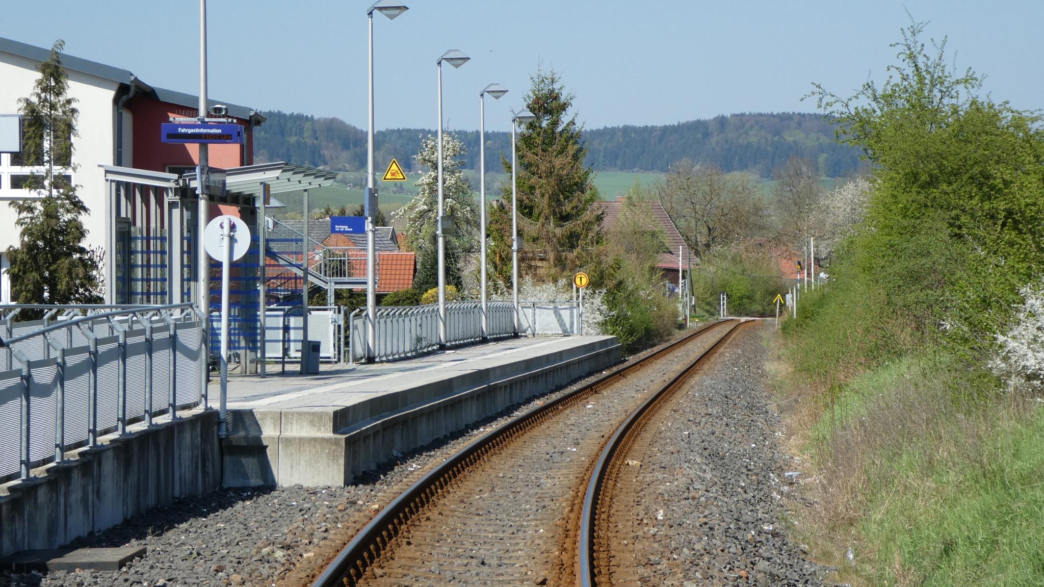 Bahnhof Schalkau Mitte